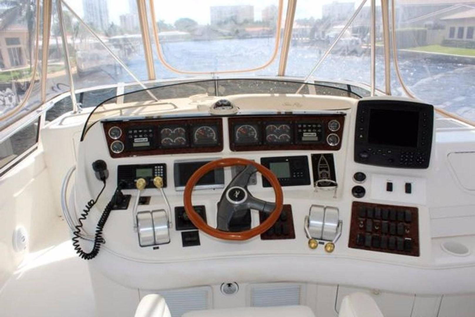 Sea Ray-480 Sedan Bridge 1999 -Pompano Beach-Florida-United States-Helm-370414 | Thumbnail