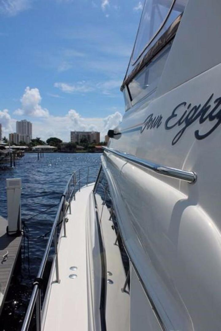 Sea Ray-480 Sedan Bridge 1999 -Pompano Beach-Florida-United States-Side Deck-370412 | Thumbnail
