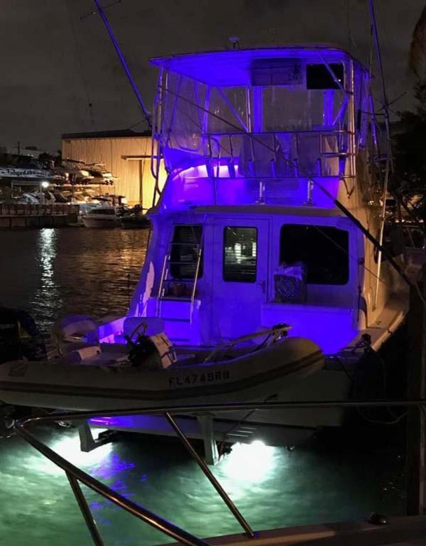 Luhrs-40 Convertible 1999-Seagar Time Pompano Beach-Florida-United States-Night Lighting-923957 | Thumbnail