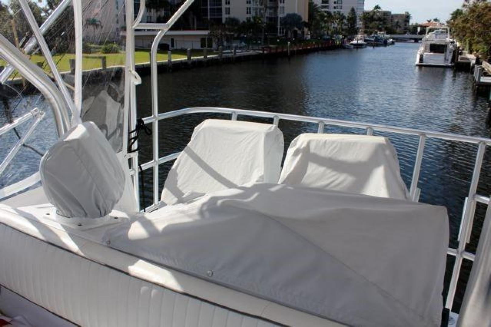 Luhrs-40 Convertible 1999-Seagar Time Pompano Beach-Florida-United States-Bridge Helm Covers-923944 | Thumbnail