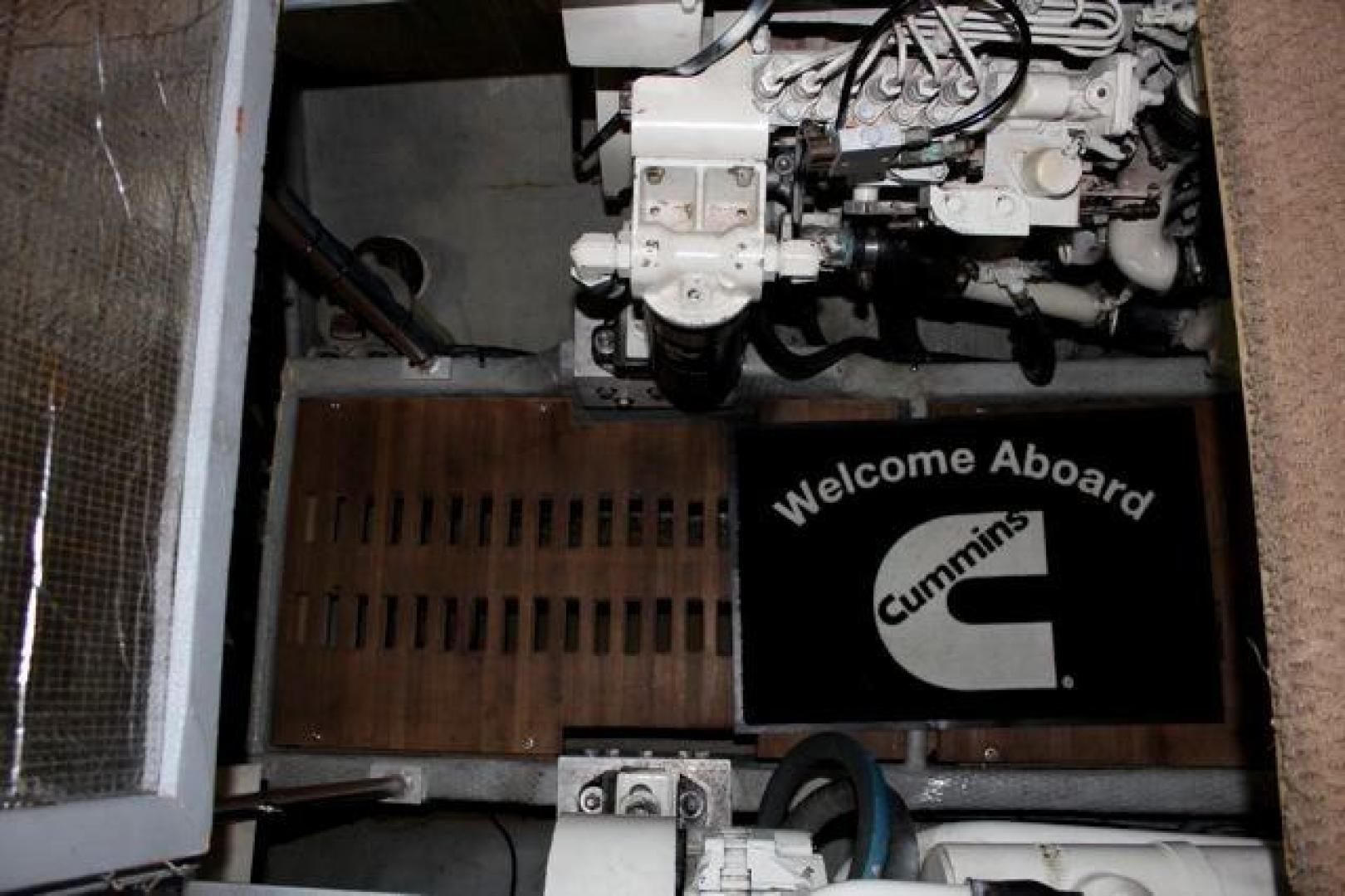 Luhrs-40 Convertible 1999-Seagar Time Pompano Beach-Florida-United States-Engine Room-923960 | Thumbnail