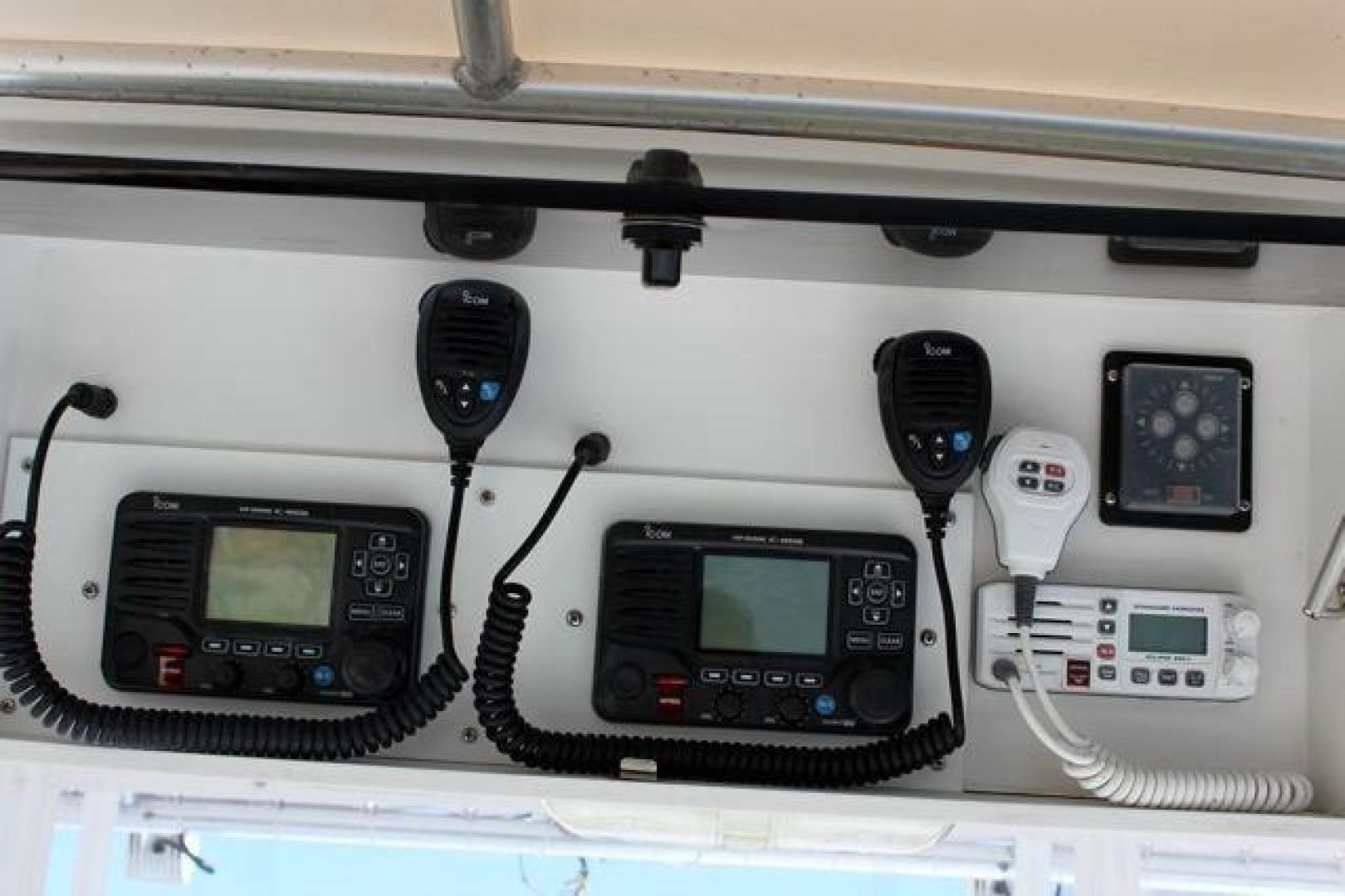 Luhrs-40 Convertible 1999-Seagar Time Pompano Beach-Florida-United States-Overhead Electronics-923950 | Thumbnail