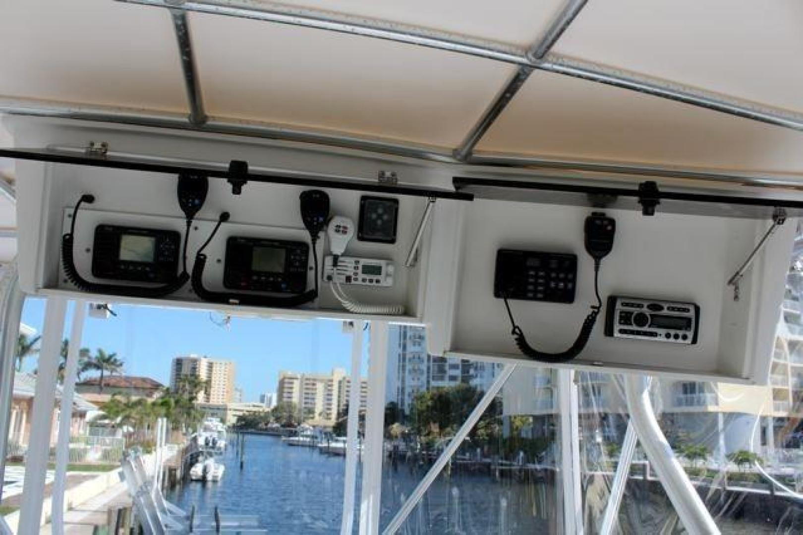 Luhrs-40 Convertible 1999-Seagar Time Pompano Beach-Florida-United States-Overhead Electronics-923949 | Thumbnail