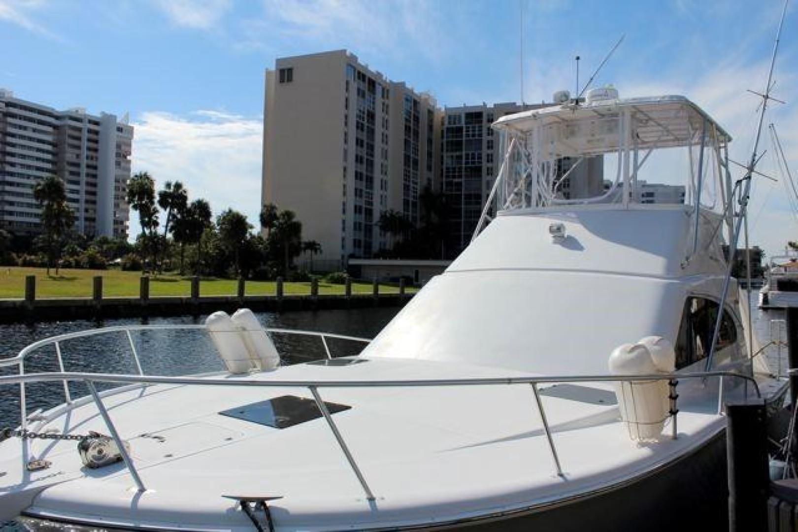 Luhrs-40 Convertible 1999-Seagar Time Pompano Beach-Florida-United States-Port Foredeck-923937 | Thumbnail