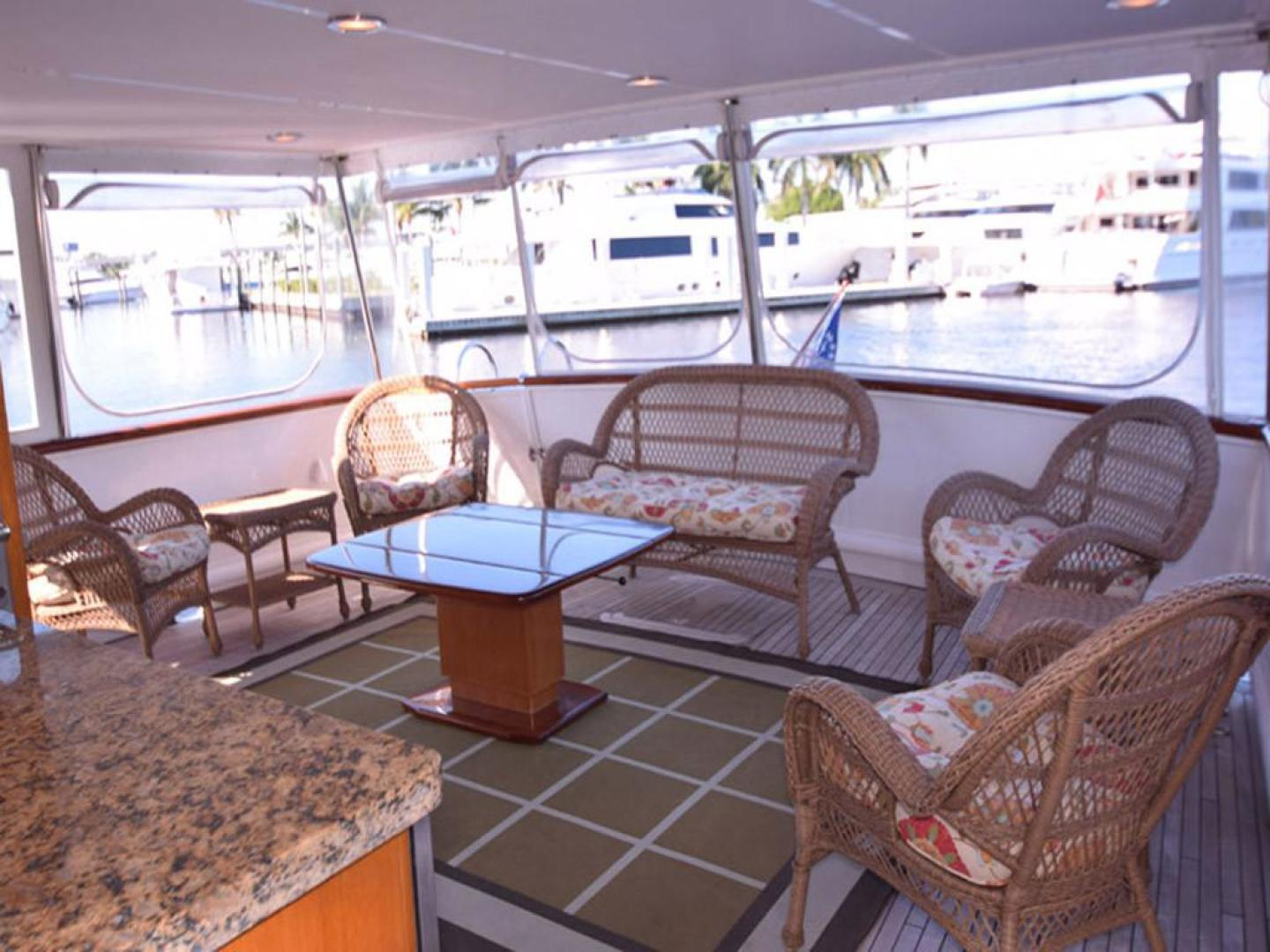 Burger-Raised Pilothouse 1958-Diane Ft. Lauderdale-Florida-United States-Aft Deck-369316 | Thumbnail