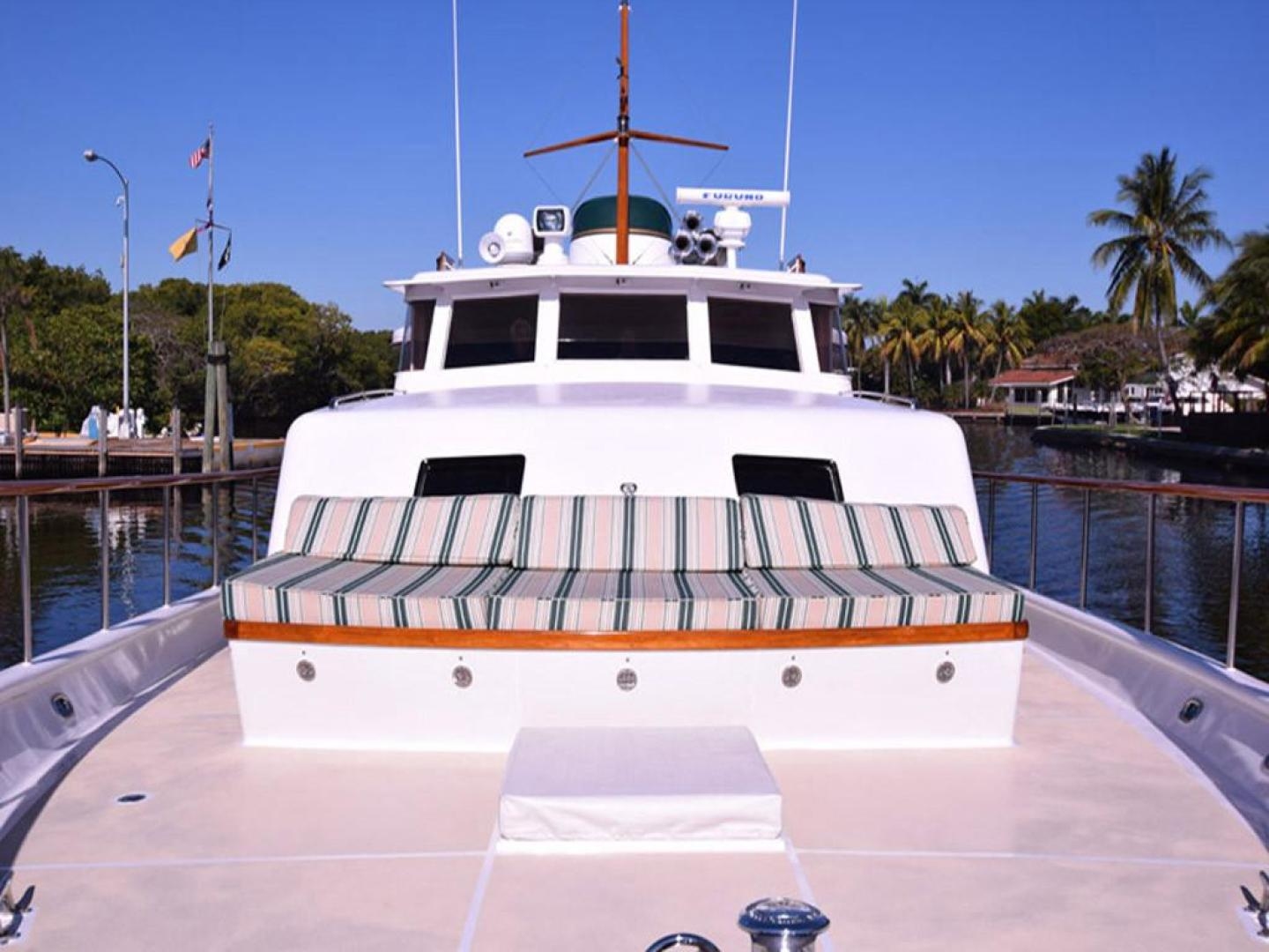 Burger-Raised Pilothouse 1958-Diane Ft. Lauderdale-Florida-United States-View from Bow-369376 | Thumbnail