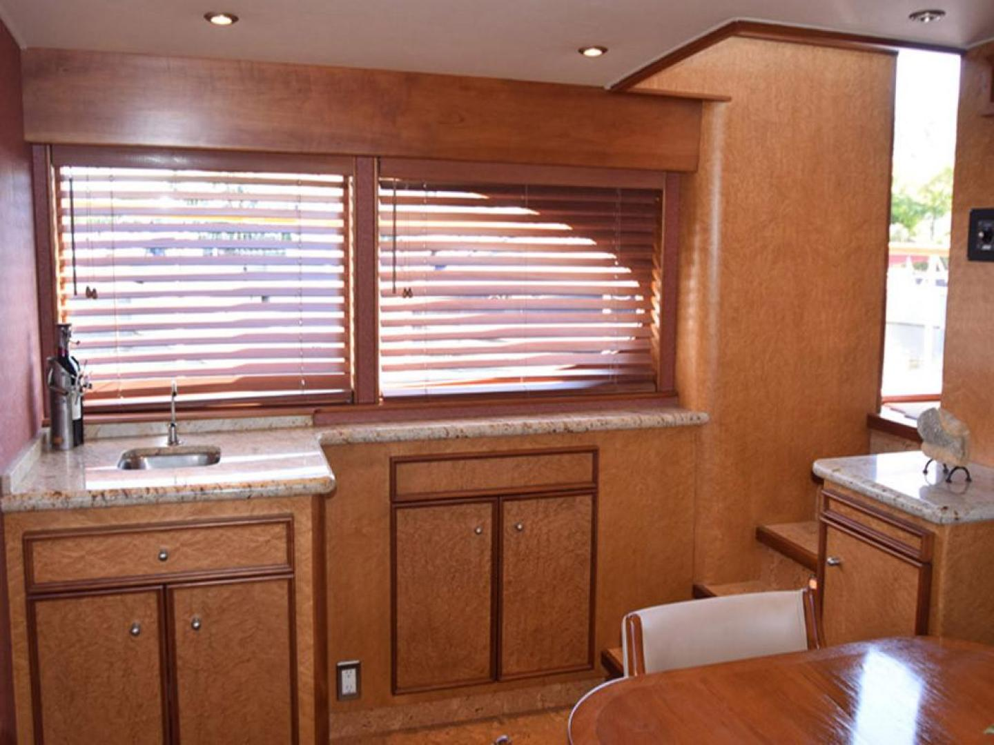 Burger-Raised Pilothouse 1958-Diane Ft. Lauderdale-Florida-United States-Wet Bar Next to Settee View to Starboard-369345 | Thumbnail