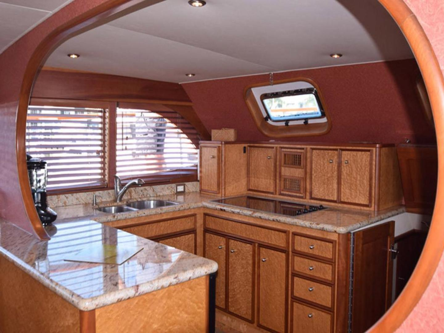 Burger-Raised Pilothouse 1958-Diane Ft. Lauderdale-Florida-United States-Galley Detail-369342 | Thumbnail