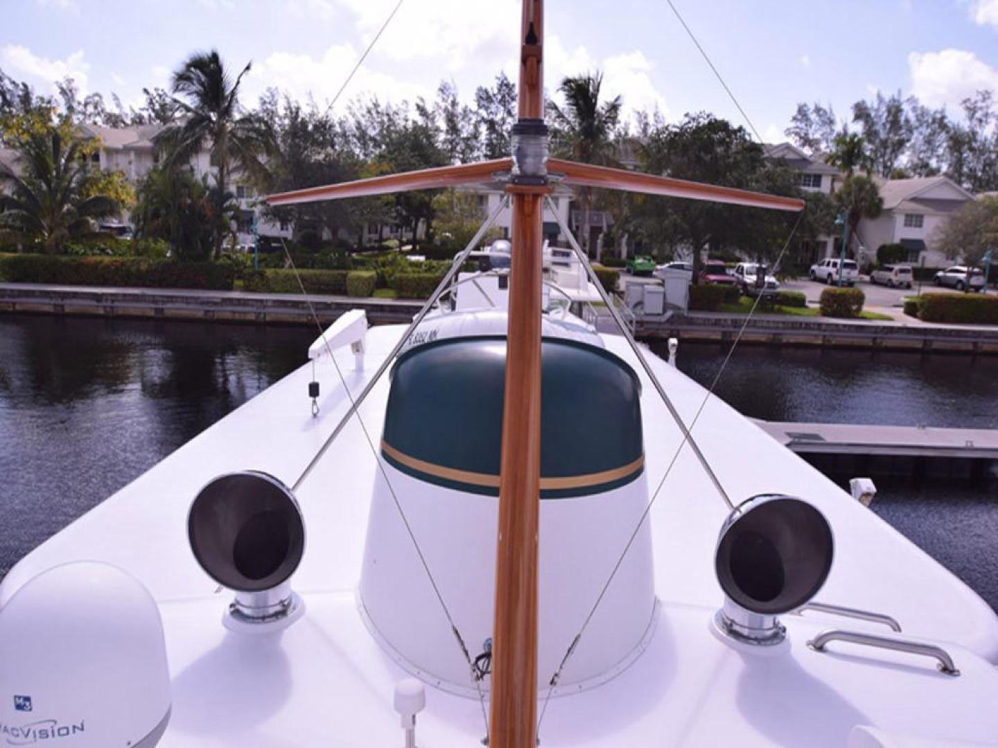Burger-Raised Pilothouse 1958-Diane Ft. Lauderdale-Florida-United States-Top Deck View-369384 | Thumbnail