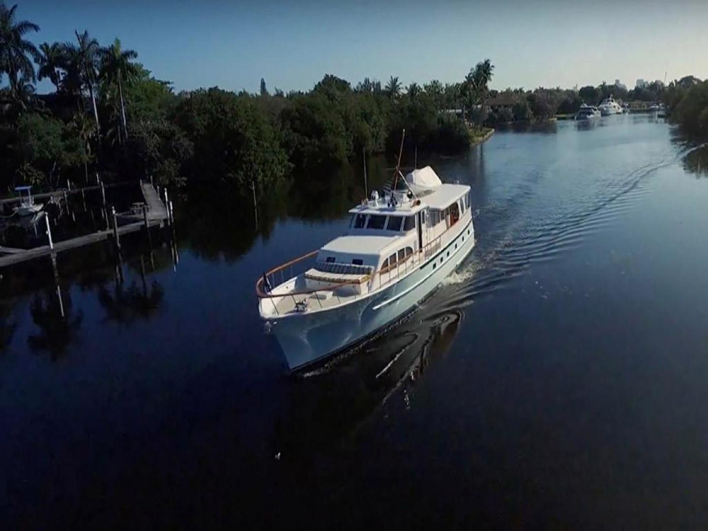 Burger-Raised Pilothouse 1958-Diane Ft. Lauderdale-Florida-United States-Bow Starboard View-369398 | Thumbnail