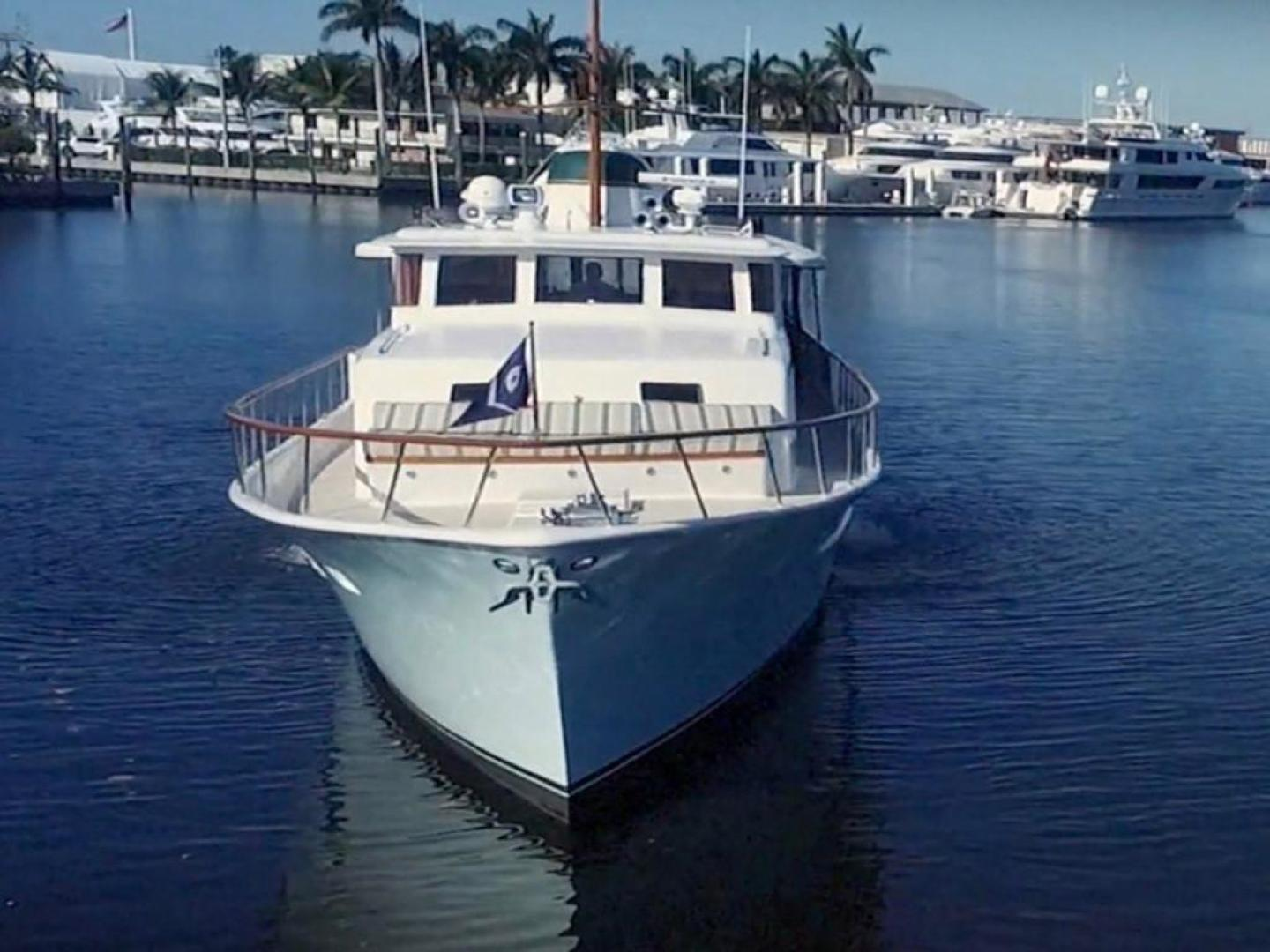 Burger-Raised Pilothouse 1958-Diane Ft. Lauderdale-Florida-United States-Bow View-369396 | Thumbnail