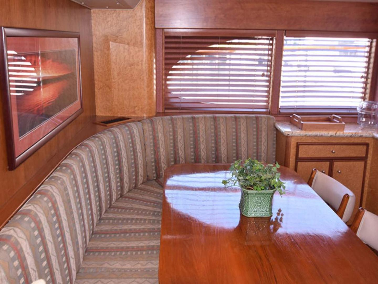 Burger-Raised Pilothouse 1958-Diane Ft. Lauderdale-Florida-United States-Settee to Port in Galley-369347 | Thumbnail