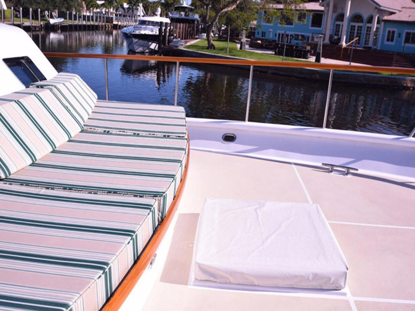 Burger-Raised Pilothouse 1958-Diane Ft. Lauderdale-Florida-United States-Bow with Hatch-369377 | Thumbnail