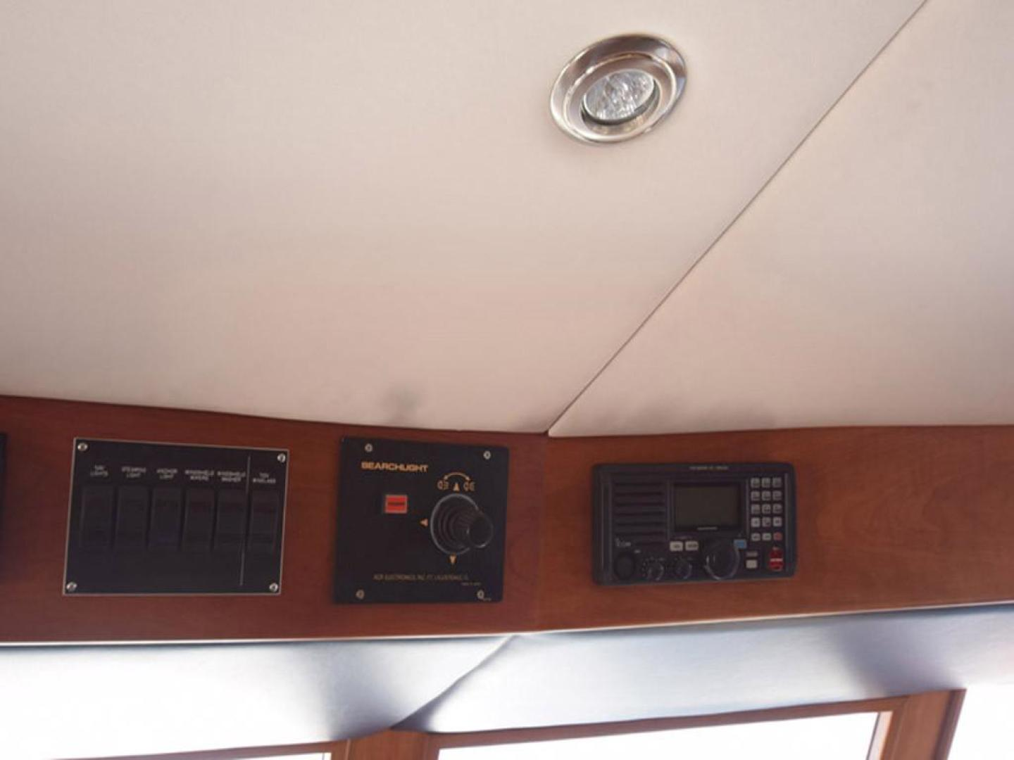 Burger-Raised Pilothouse 1958-Diane Ft. Lauderdale-Florida-United States-Electronics at Helm Detail-369358 | Thumbnail