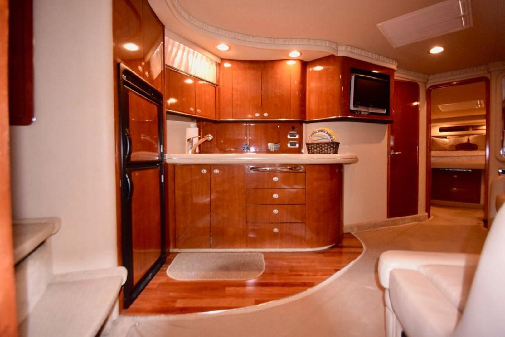Sea Ray-Sundancer 2004-Bubba The Final Version? Dania Beach-Florida-United States-Galley from Mid Ship Stateroom-368966 | Thumbnail