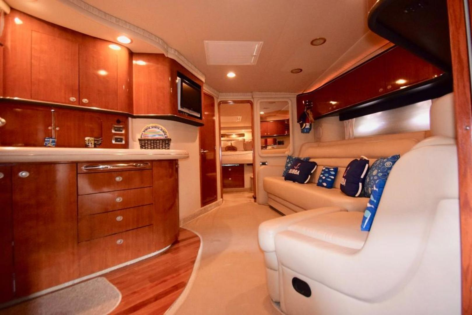 Sea Ray-Sundancer 2004-Bubba The Final Version? Dania Beach-Florida-United States-Main Salon with View into Main Stateroom-368972 | Thumbnail
