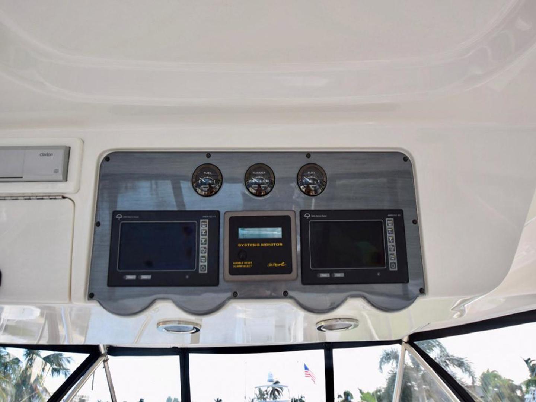 Sea Ray-550 Sedan Bridge 2005-March Madness Pompano Beach-Florida-United States-Flybridge above the Helm Electronics-277896 | Thumbnail
