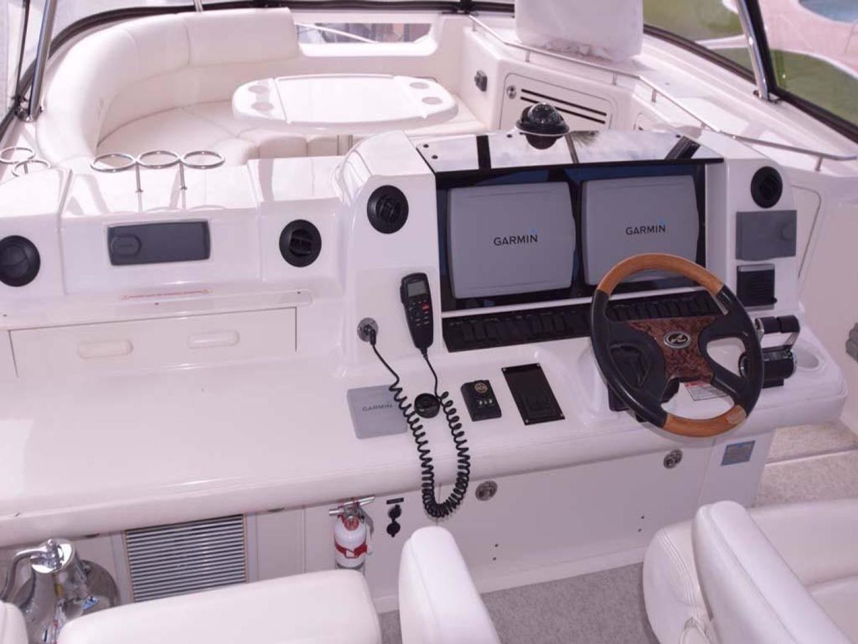Sea Ray-550 Sedan Bridge 2005-March Madness Pompano Beach-Florida-United States-Flybridge Electronics-277890 | Thumbnail