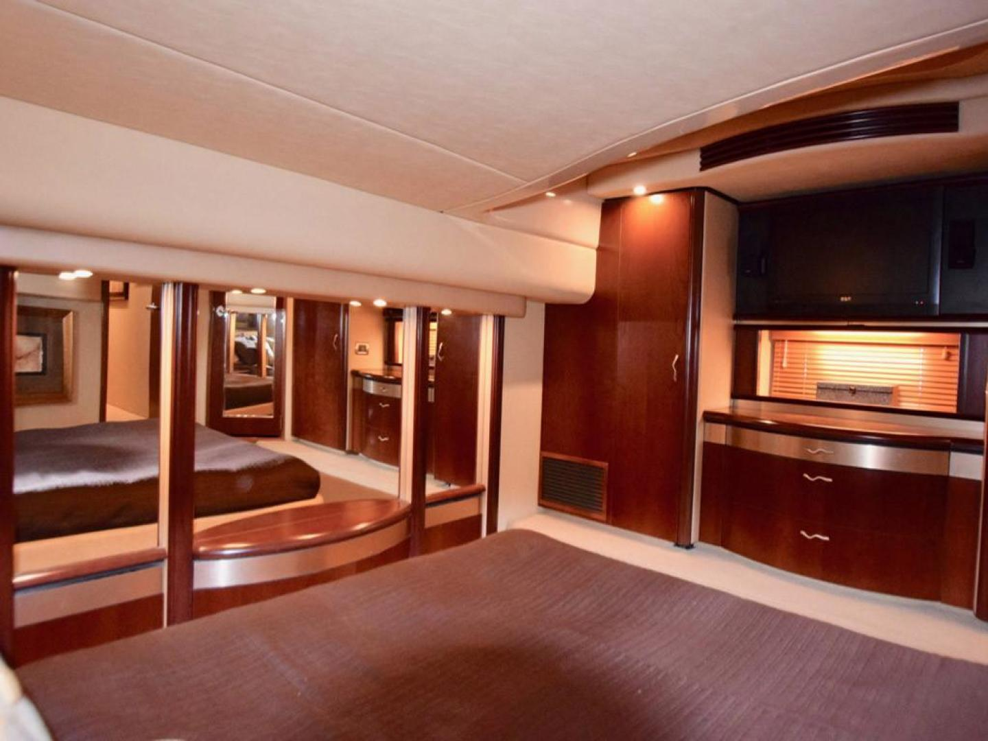 Sea Ray-550 Sedan Bridge 2005-March Madness Pompano Beach-Florida-United States-Owners Suite to Port-277854 | Thumbnail