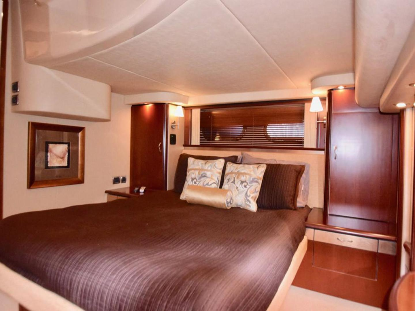 Sea Ray-550 Sedan Bridge 2005-March Madness Pompano Beach-Florida-United States-Owners Suite with Storage-277857 | Thumbnail