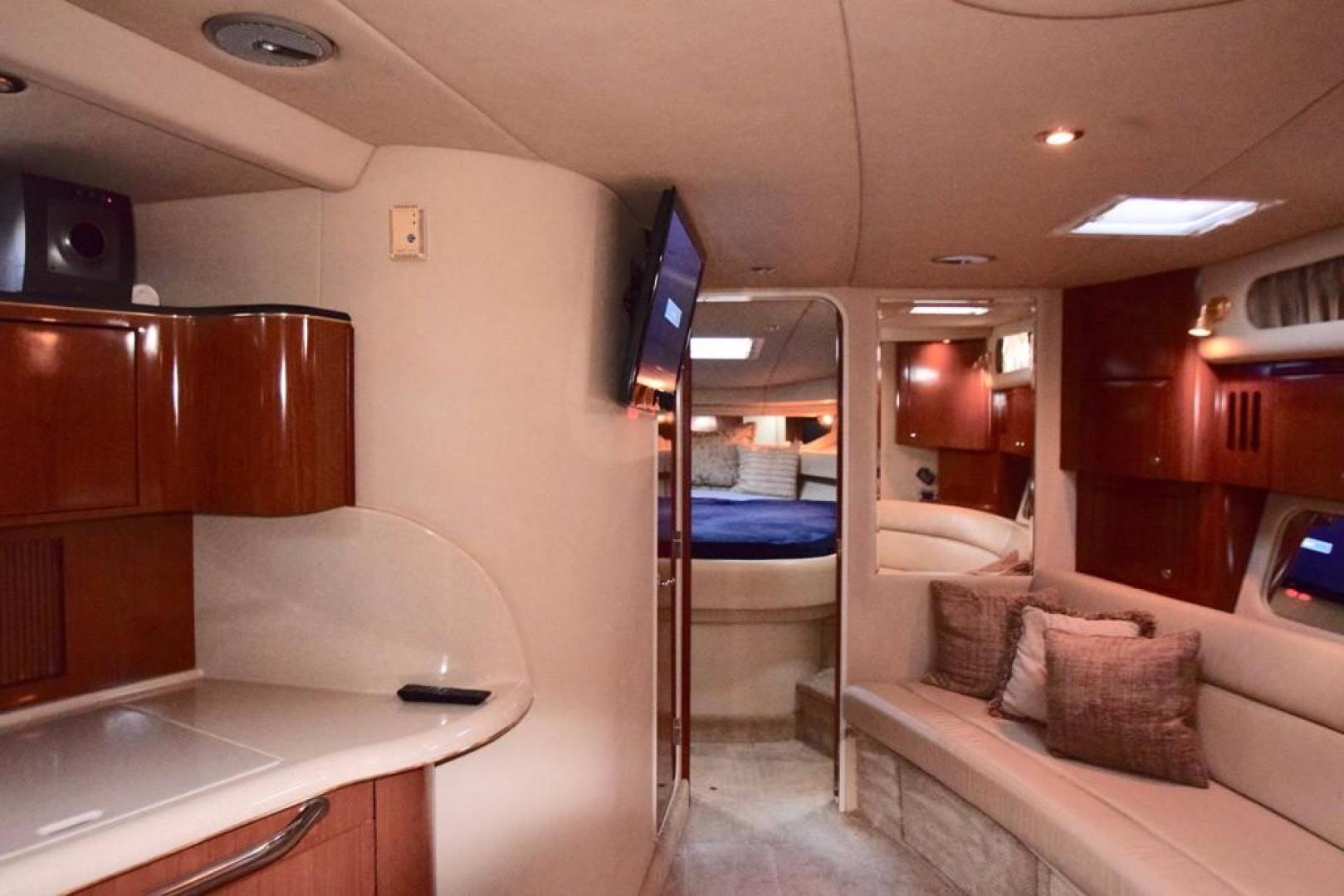 Sea Ray-Sundancer 410 2002-Float Days Ft. Lauderdale-Florida-United States-Cabin Looking Forward-369097 | Thumbnail