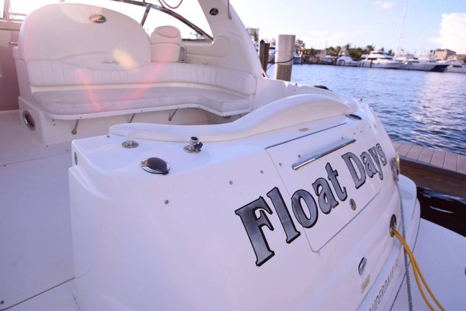 Sea Ray-Sundancer 410 2002-Float Days Ft. Lauderdale-Florida-United States-Transom Storage-369089 | Thumbnail