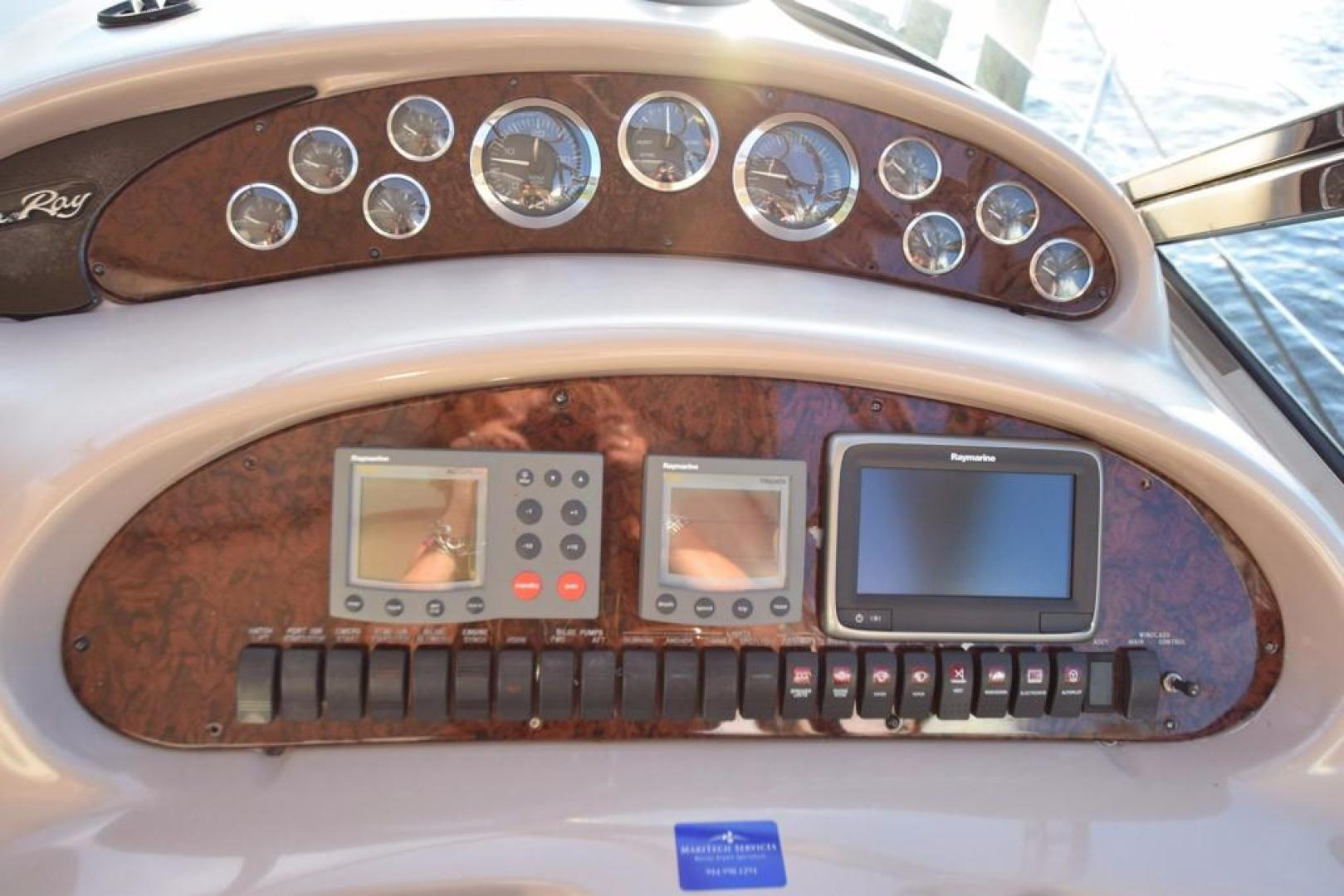 Sea Ray-Sundancer 410 2002-Float Days Ft. Lauderdale-Florida-United States-Helm Gauges-369095 | Thumbnail