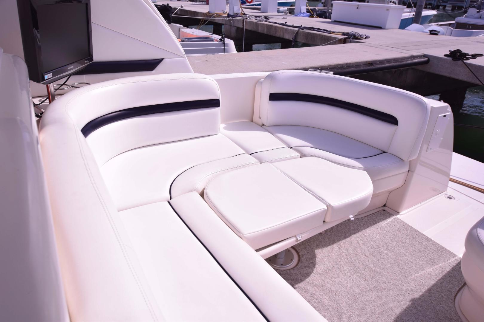 Sea Ray-Sundancer 2008-Heaven Sent Miami Beach-Florida-United States-Aft Deck Seating with Insert-369175 | Thumbnail