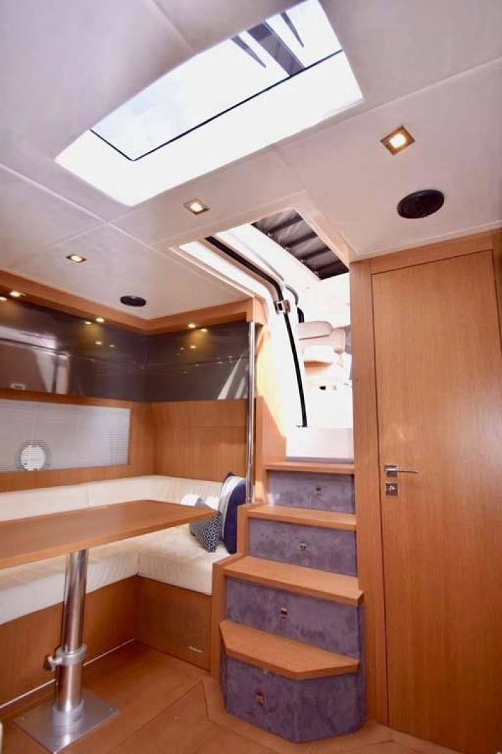 Azimut-48 ATLANTIS 2013-Spectrum Miami-Florida-United States-Entry Way and Galley View to Settee-369668 | Thumbnail