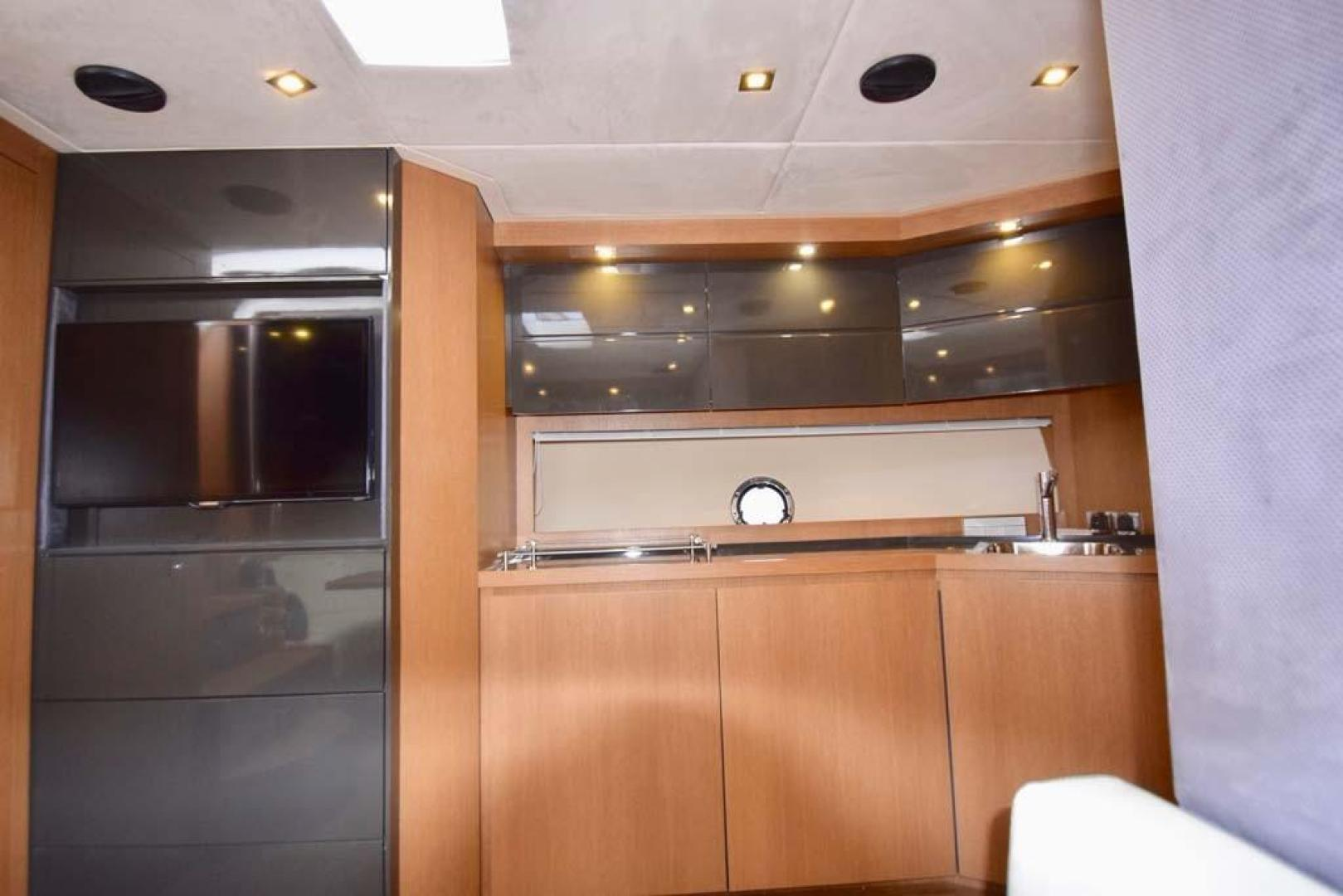 Azimut-48 ATLANTIS 2013-Spectrum Miami-Florida-United States-Galley View from Settee-369678 | Thumbnail