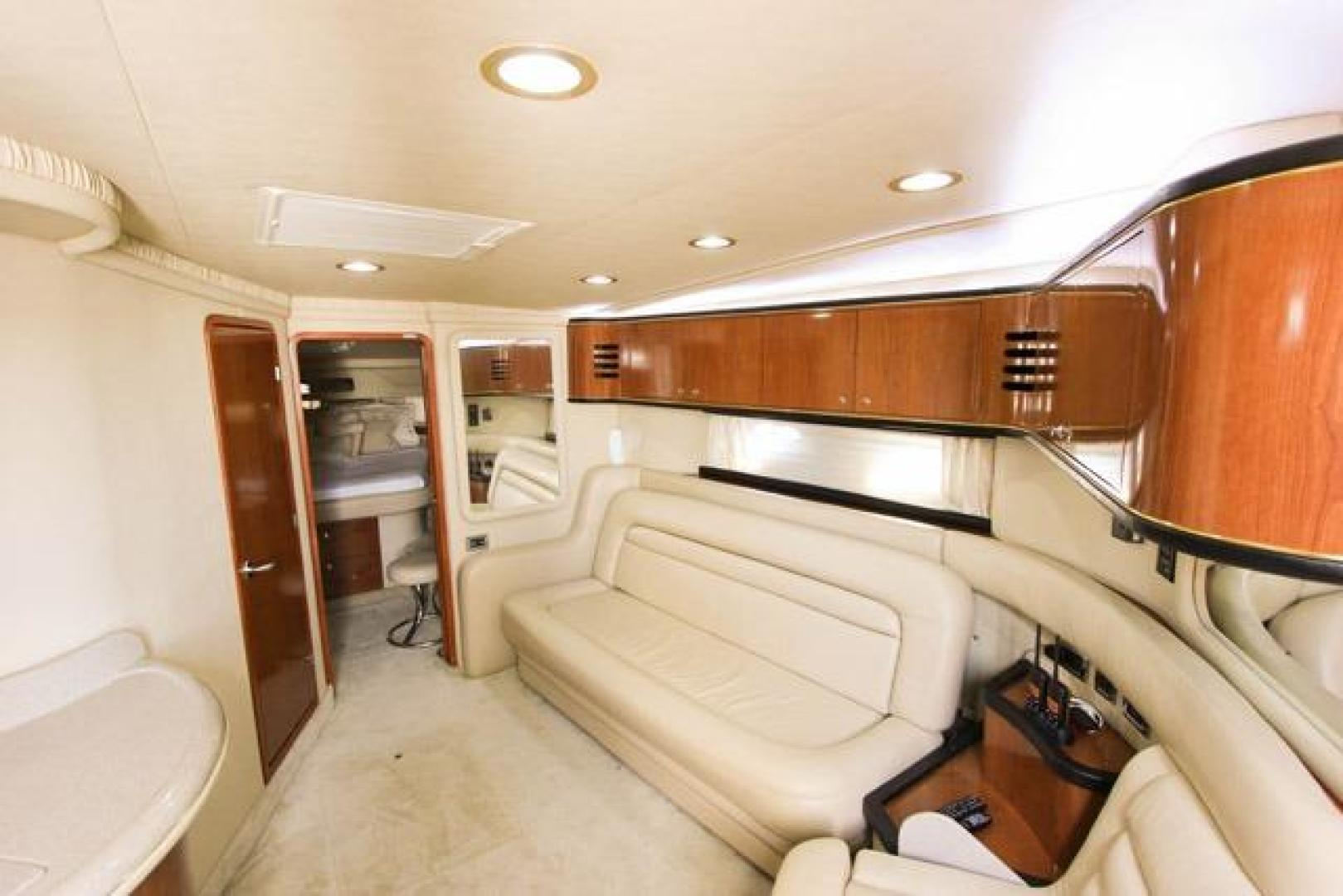 Sea Ray-460 Sundancer 2002 -Miami-Florida-United States-Main Salon with Convertible Sofa-368469 | Thumbnail