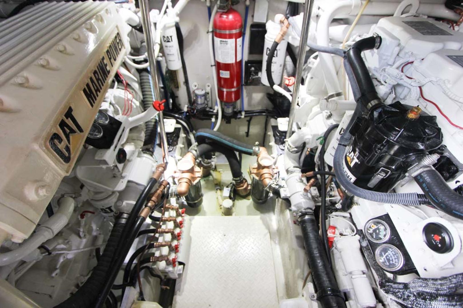 Sea Ray-Sundancer 2001-Lasting Impression Ft. Lauderdale-Florida-United States-Engine Room-1065017 | Thumbnail