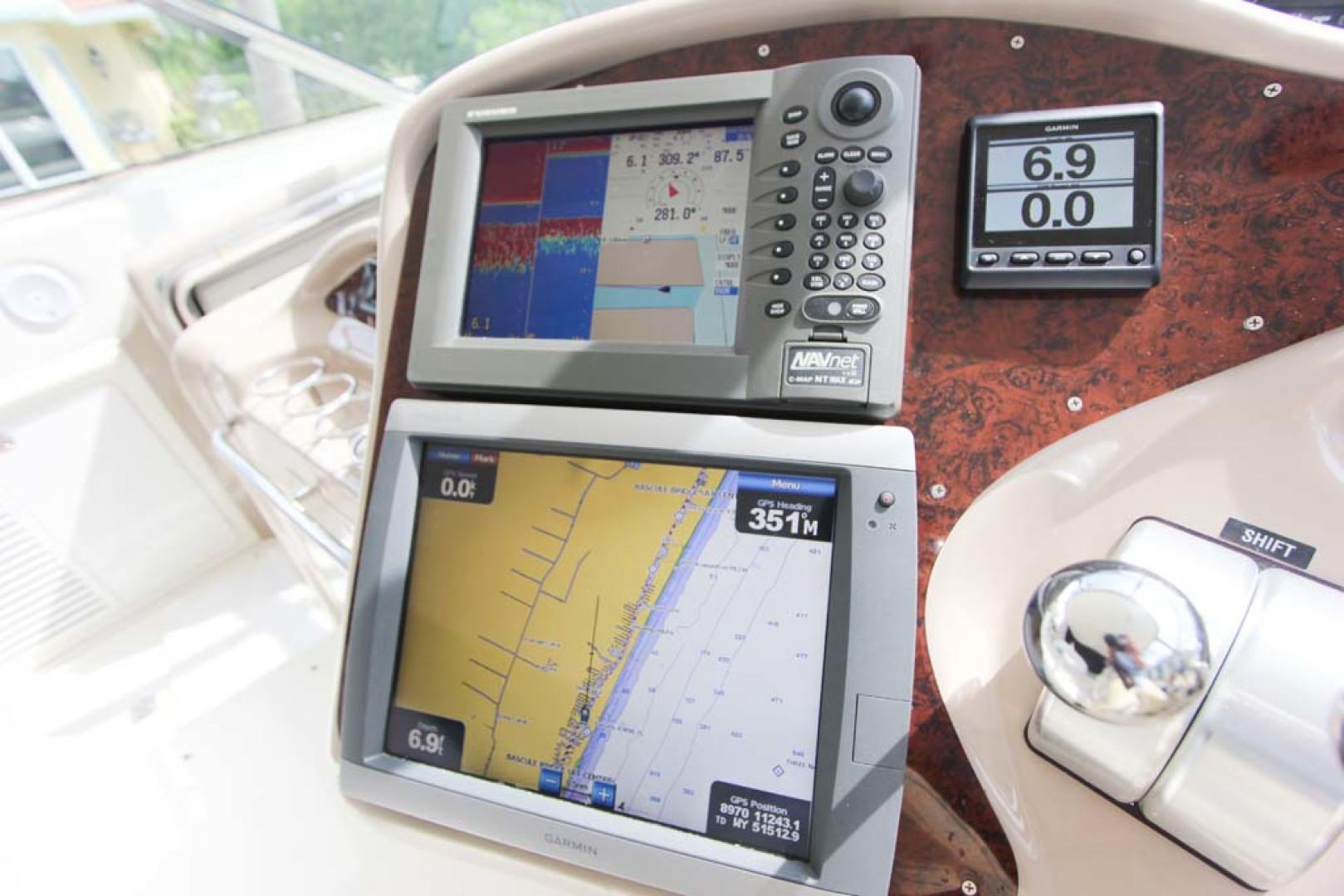 Sea Ray-Sundancer 2001-Lasting Impression Ft. Lauderdale-Florida-United States-Helm and Electronics-1065002 | Thumbnail