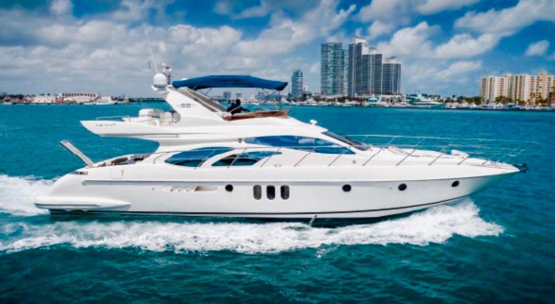 "2007 Azimut 62' 62 Flybridge ""ICONIC SEA E O"""