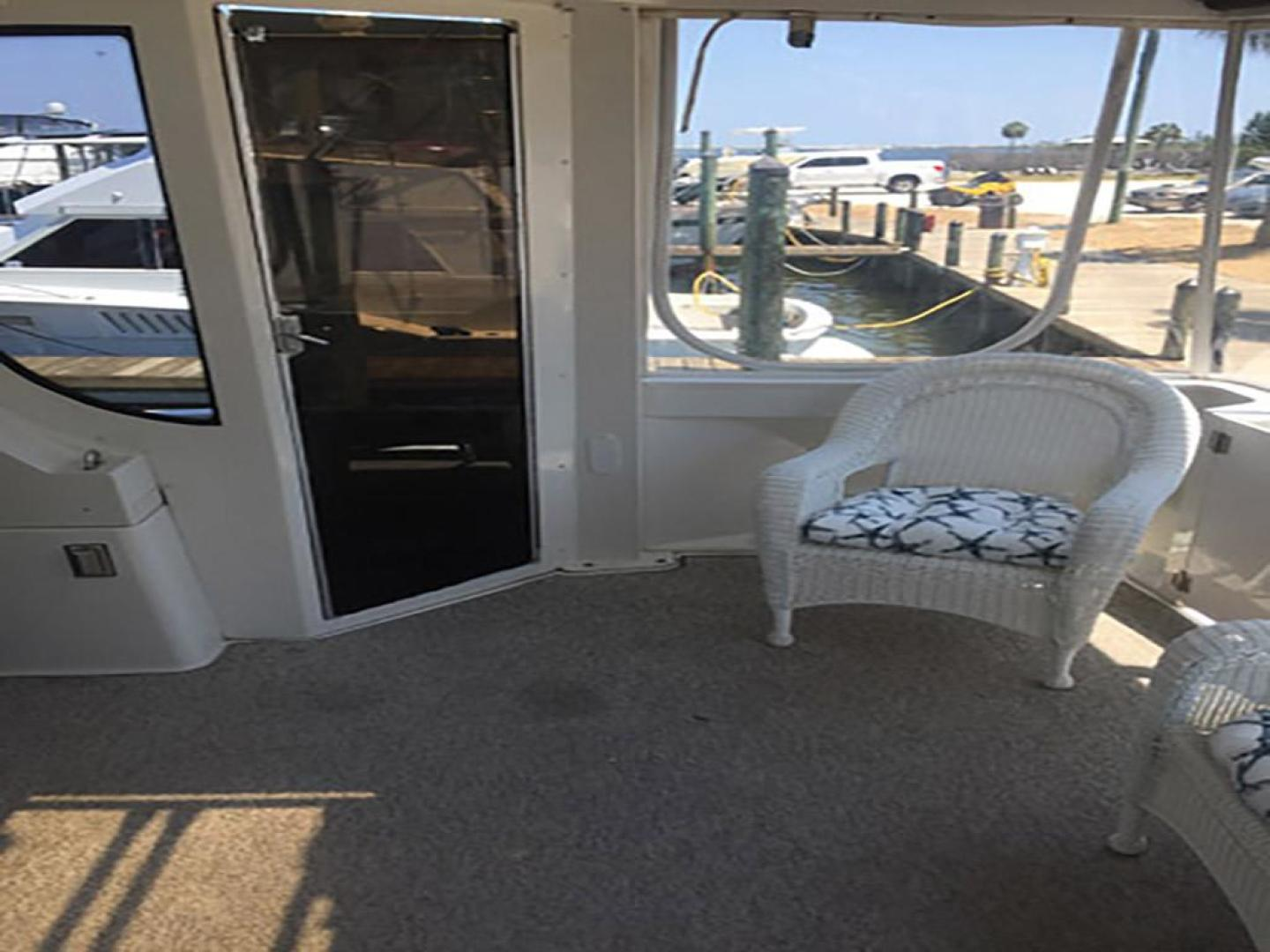 Carver-466 Motor Yacht 2001-Rollin in the Tides Pensacola-Florida-United States-Aft Deck Starboard-377516 | Thumbnail