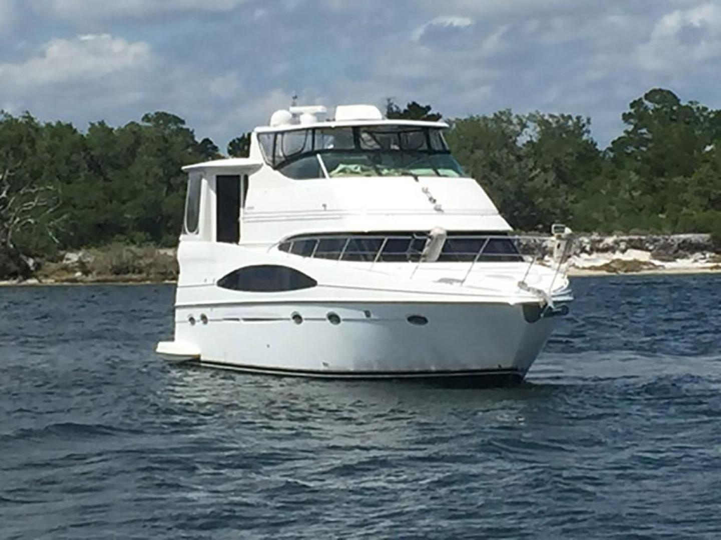 Carver-466 Motor Yacht 2001-Rollin in the Tides Pensacola-Florida-United States-Starboard Bow View-377504 | Thumbnail