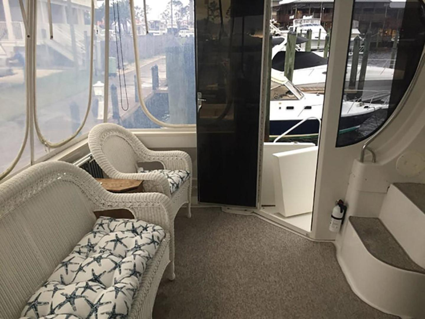 Carver-466 Motor Yacht 2001-Rollin in the Tides Pensacola-Florida-United States-Aft Deck Port View-377518 | Thumbnail
