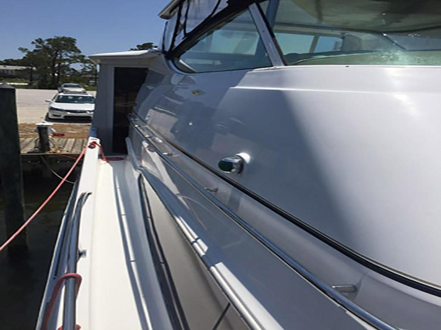 Carver-466 Motor Yacht 2001-Rollin in the Tides Pensacola-Florida-United States-Starboard Side Deck Aft-377511 | Thumbnail