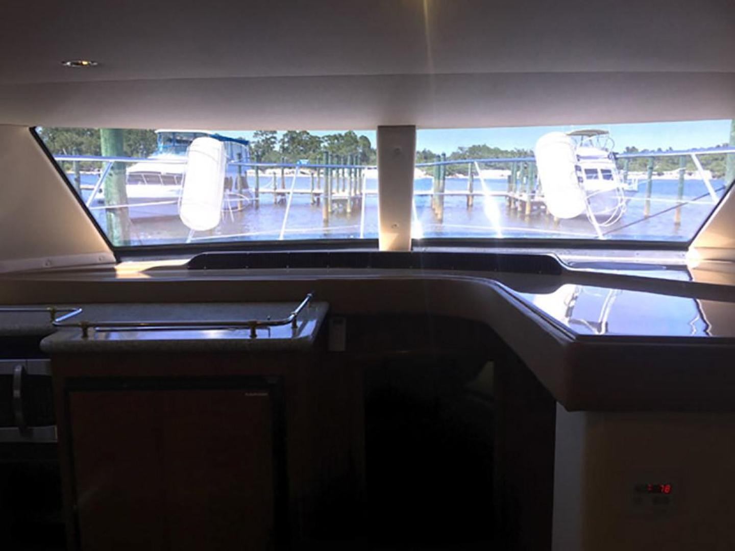 Carver-466 Motor Yacht 2001-Rollin in the Tides Pensacola-Florida-United States-Salon Large Picture Windows Forward-377473 | Thumbnail