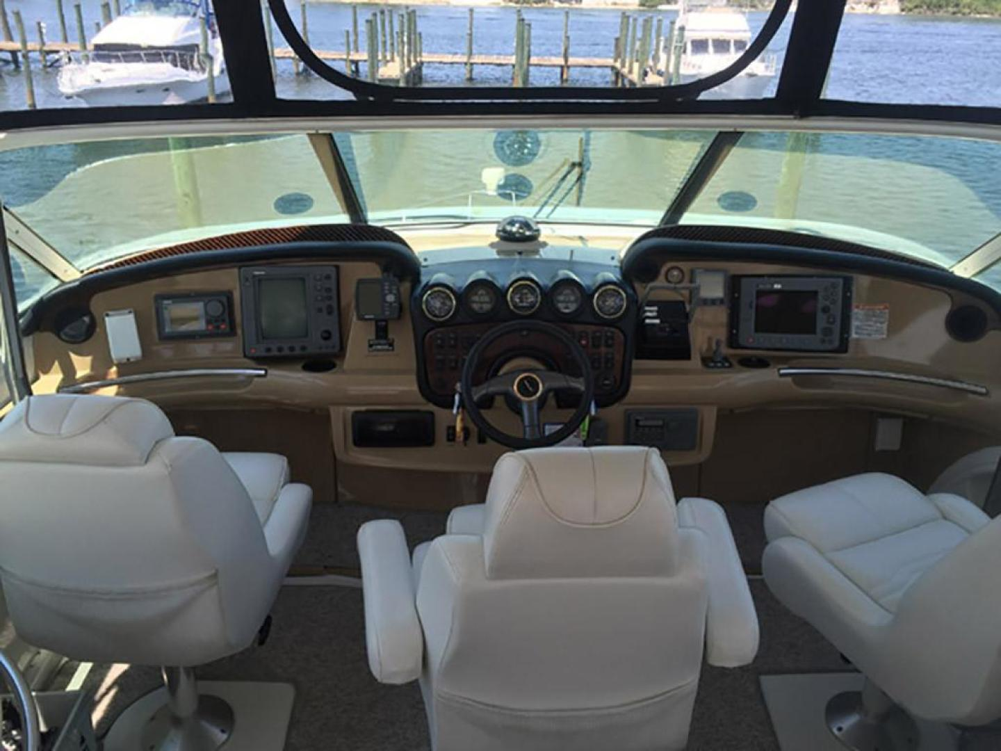 Carver-466 Motor Yacht 2001-Rollin in the Tides Pensacola-Florida-United States-Helm Station-377520 | Thumbnail