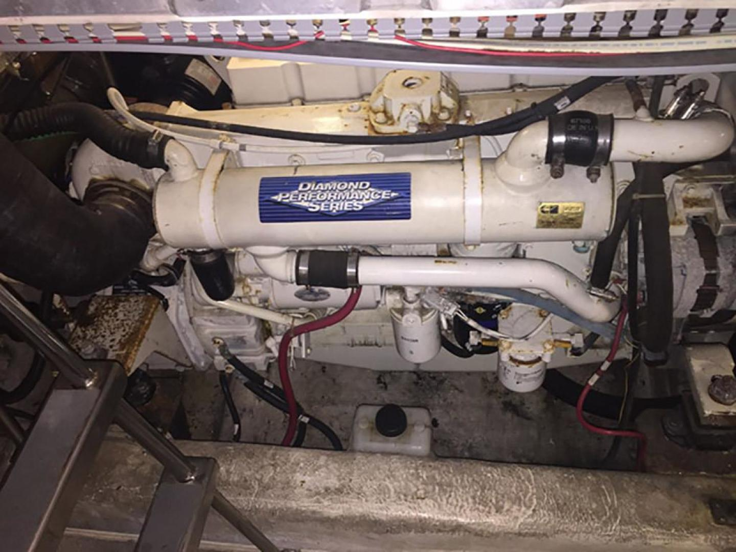 Carver-466 Motor Yacht 2001-Rollin in the Tides Pensacola-Florida-United States-Engine Port-377525 | Thumbnail