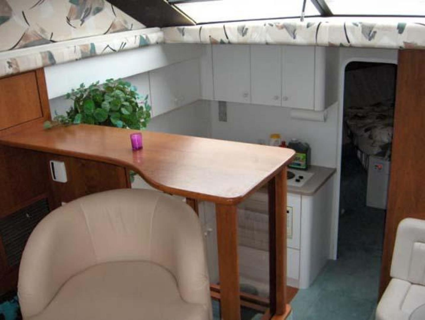 Silverton-AFT CABIN 1995-Miss Adventure II Kingston-New York-United States-Salon Forward and Galley-373770 | Thumbnail