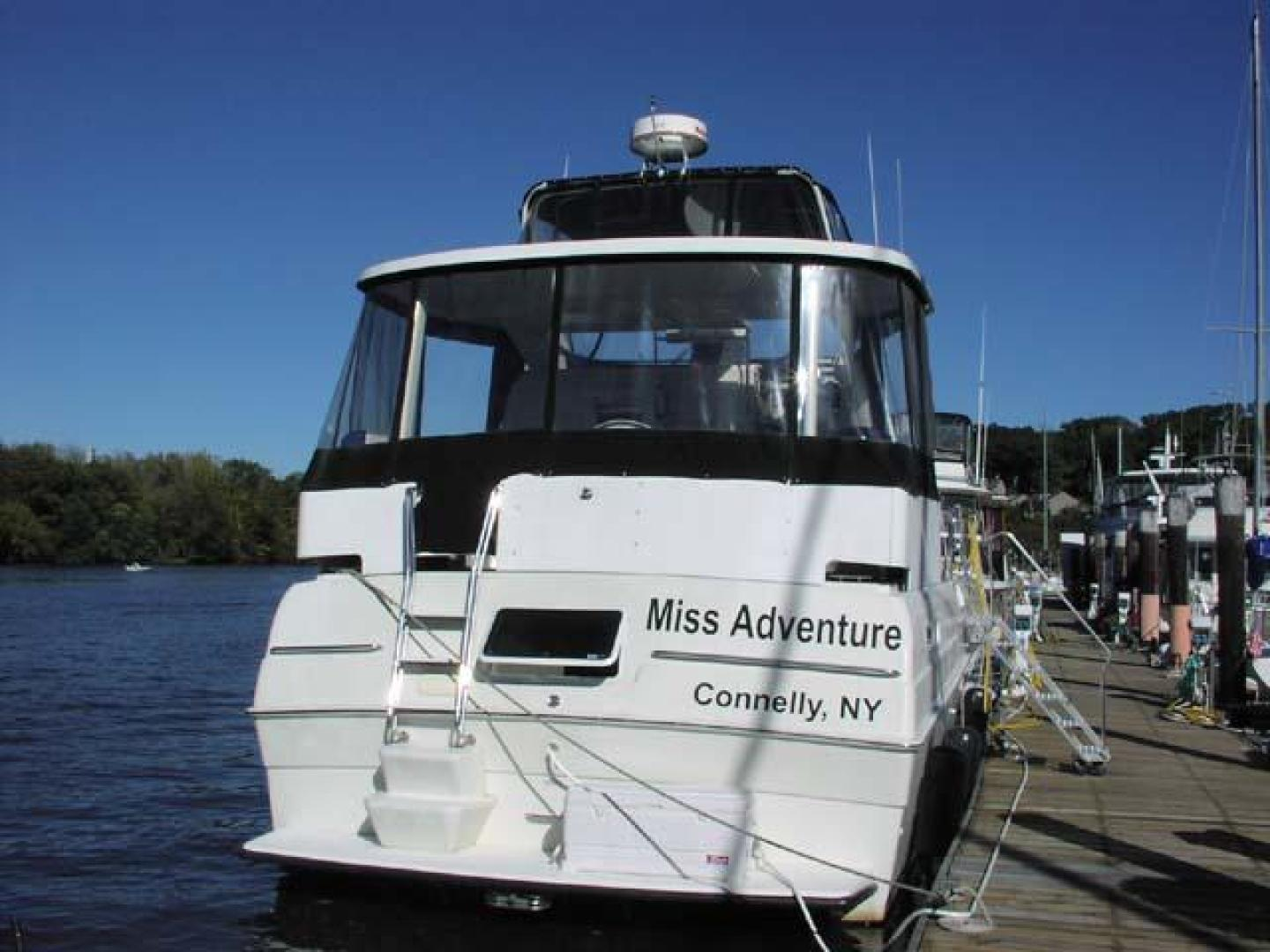Silverton-AFT CABIN 1995-Miss Adventure II Kingston-New York-United States-Stern View-373781 | Thumbnail