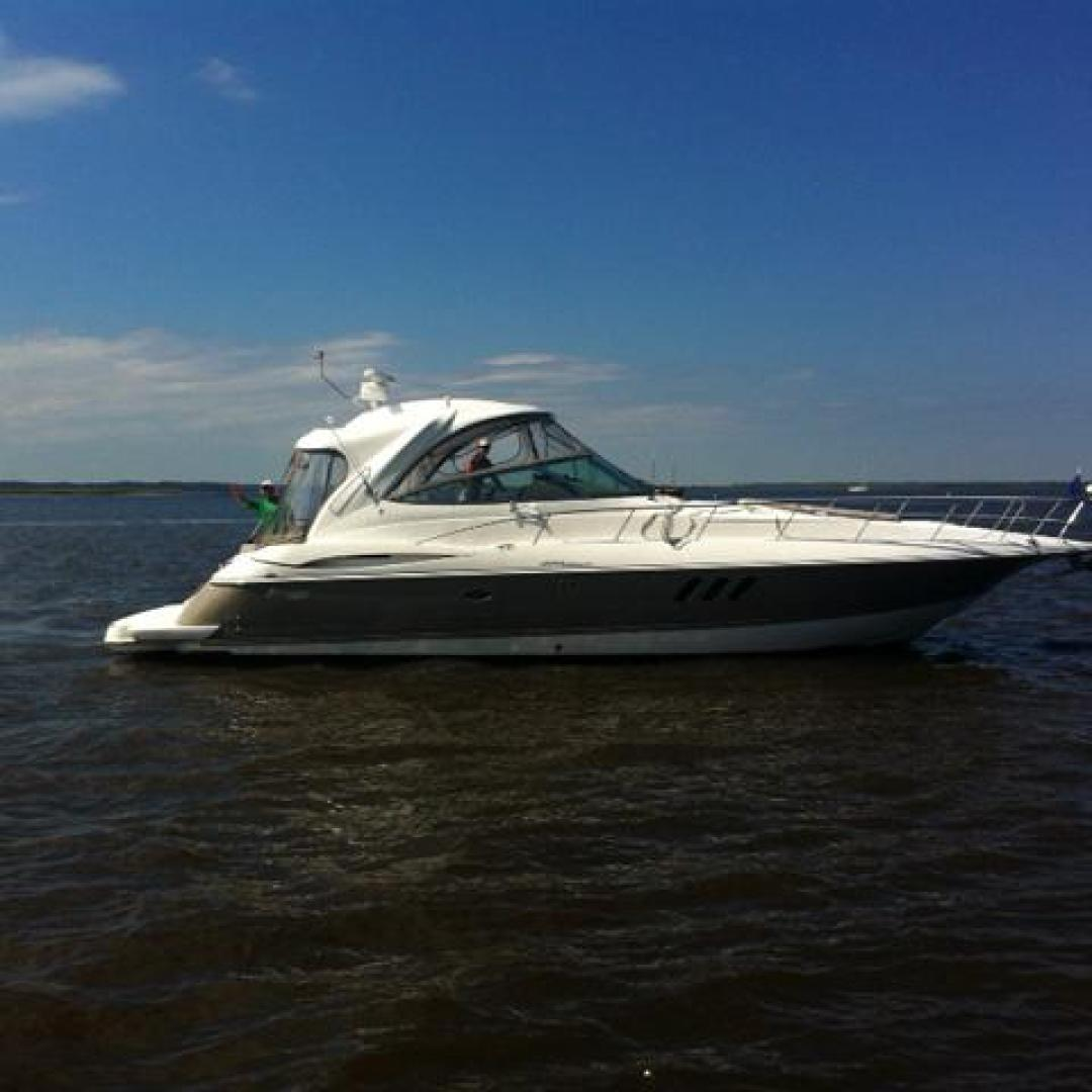 Cruisers Yachts-460 Express 2008-Bikini Blues Miami-Florida-United States-Starboard Profile-924386 | Thumbnail