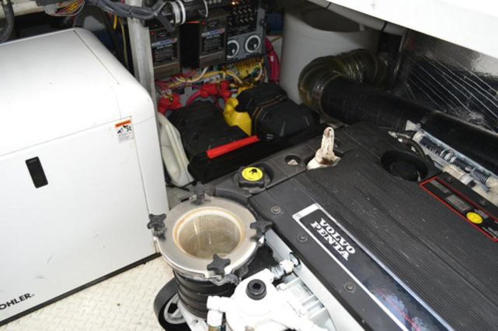 Cruisers Yachts-460 Express 2008-Bikini Blues Miami-Florida-United States-Engine Room-924384 | Thumbnail