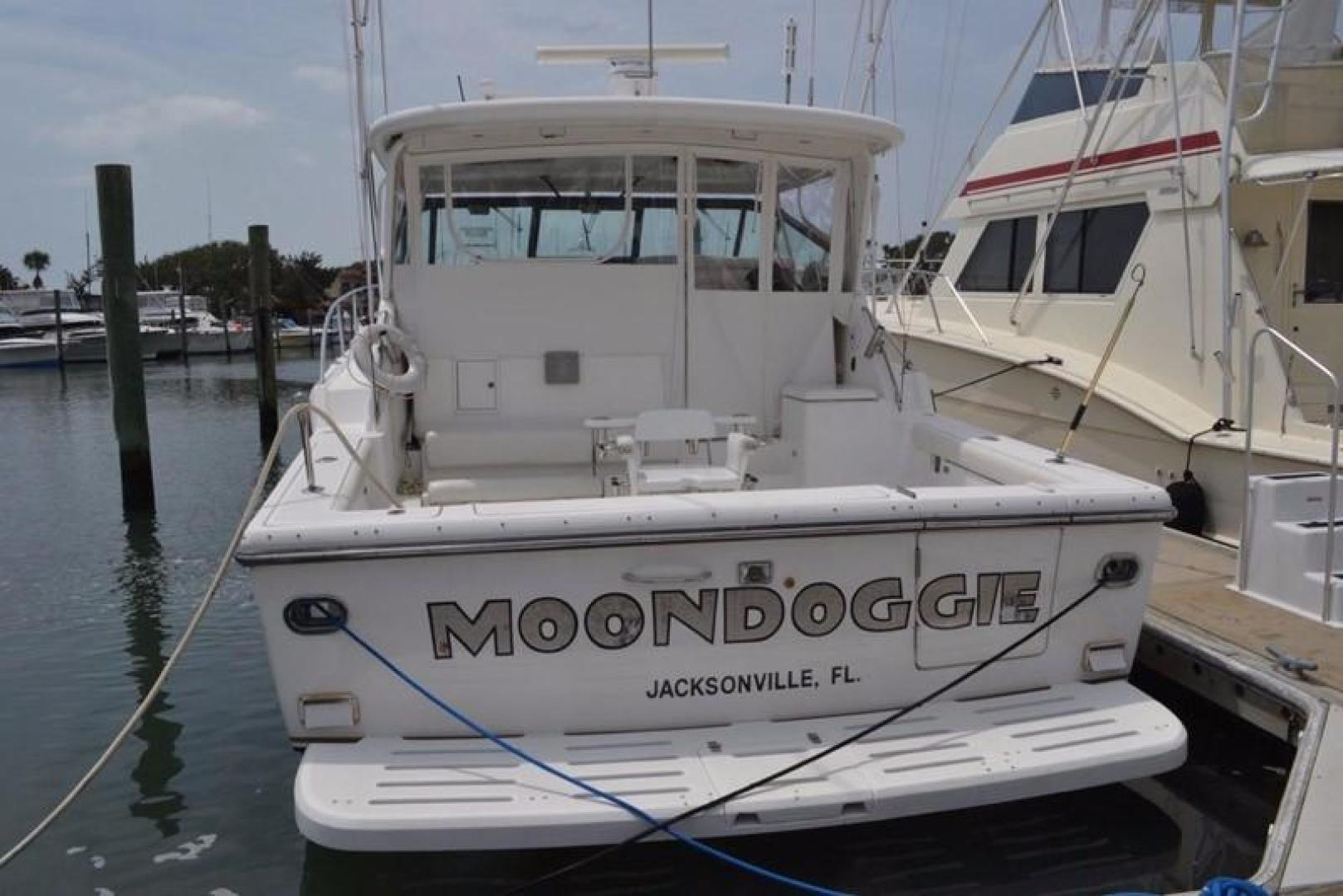 Tiara-4100 Open 2000-Moondoggie St. Augustine-Florida-United States-Stern-924418 | Thumbnail