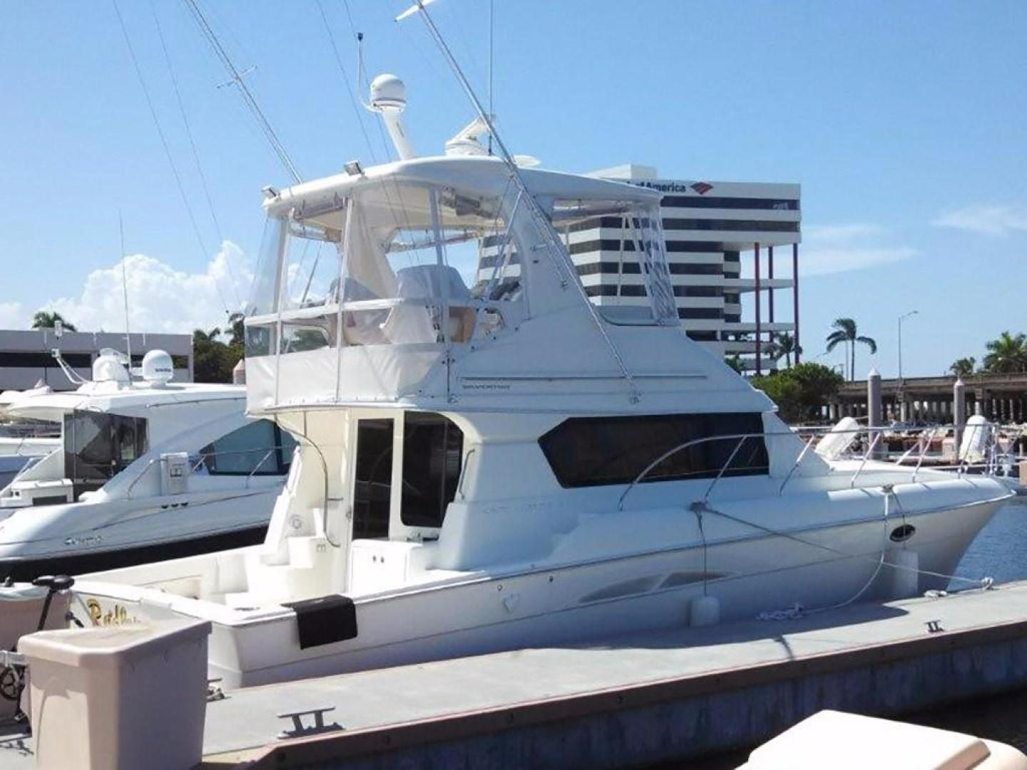 Silverton-42 Convertible 2008-Radler Miami-Florida-United States-Starboard View at the Dock-374165 | Thumbnail