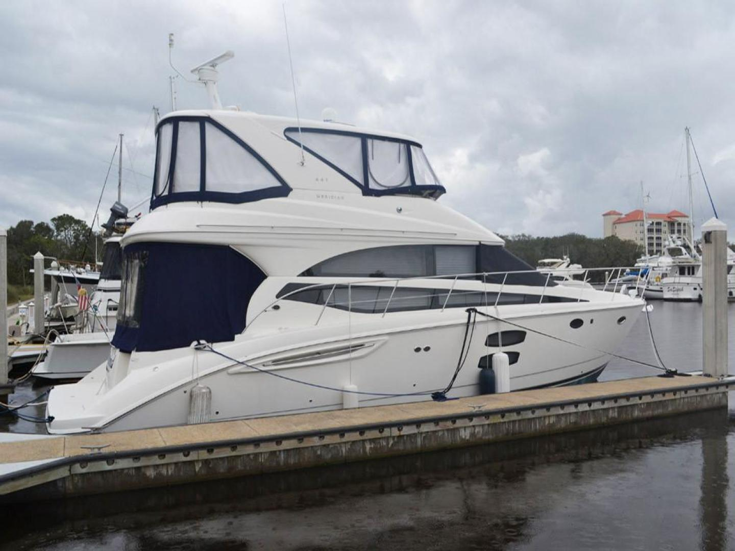 Meridian-441 Sedan Bridge 2012-Higher Powered Palm Coast-Florida-United States-Starboard Profile-141633 | Thumbnail