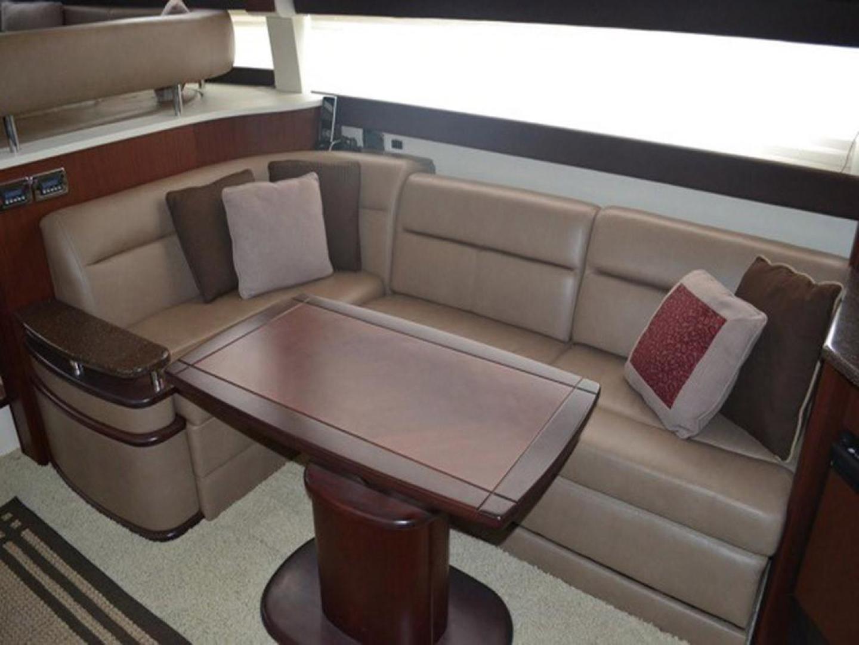 Meridian-441 Sedan Bridge 2012-Higher Powered Palm Coast-Florida-United States-Salon Dinette-141638 | Thumbnail