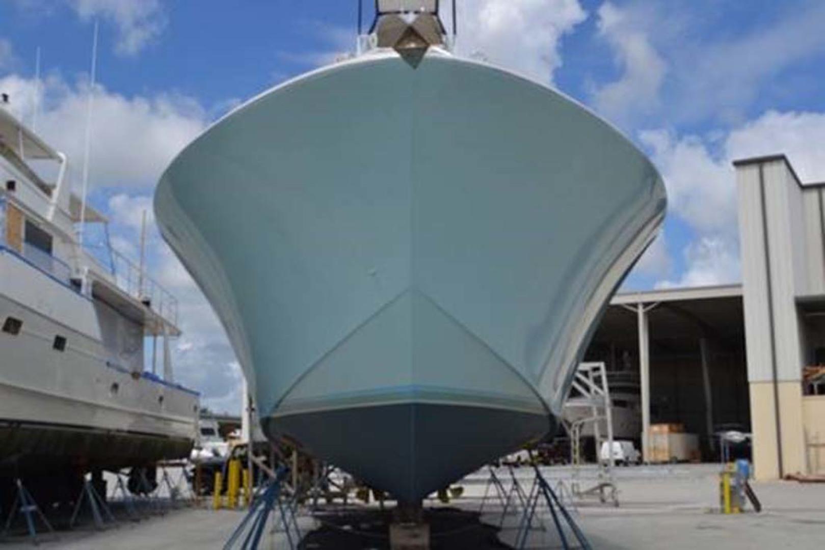 Jim-Smith-Custom-Convertible-Sportfish-2006-Silky-Palm-Beach-Florida-United-States-9/2018-Bottom-Job-Bow-1069886